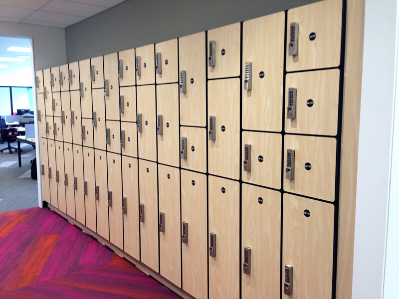 Mondelez Lockers