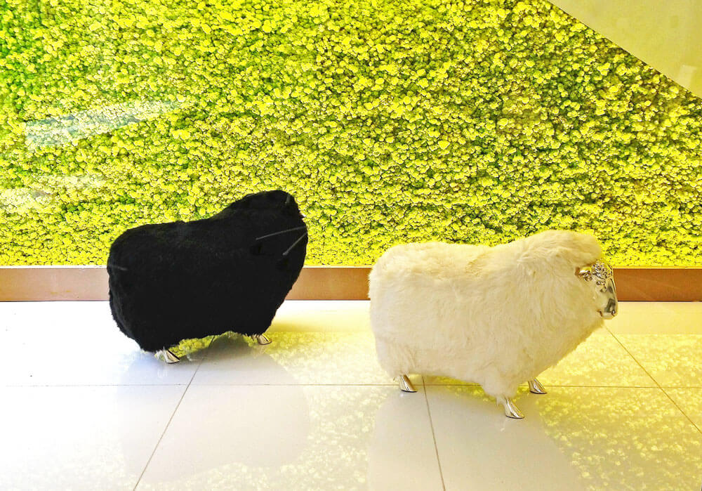Emerge212 Sheep Stools