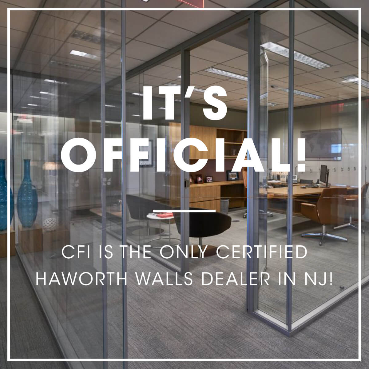 CFI is the ONLY certified walls dealer in NJ